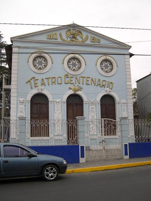 (e) Teatro Centenario