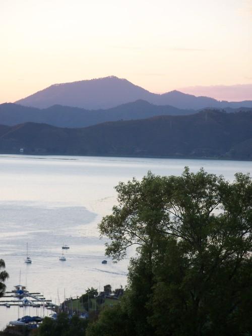 (a) View of Lake Avandaro